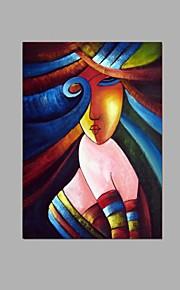 käsinmaalattu abstrakti afrikkalainen naiset öljymaalaus koti hotelli sisustus venytetty runko