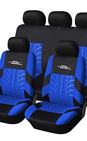 ajuste universal para el coche, camión, camioneta o furgoneta cubierta de asiento de coche de poliéster conjunto completo sistema de la