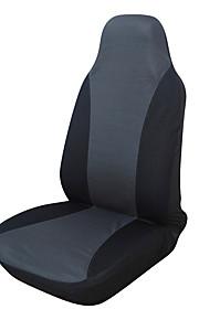 ajuste universal para el coche, camión, SUV o camioneta cubierta de asiento de poliéster 1 piezas gris