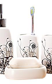 simpel dekorativ badeværelse fire heldragt (tilfældigt mønster)
