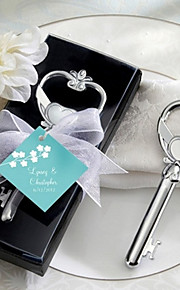Key to My Heart Wine Bottle Opener Wedding Favors