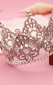 Femme Strass / Alliage / Imitation de perle Casque-Mariage / Occasion spéciale / Extérieur Tiare 1 Pièce