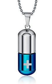 Silber / Blau Anhänger Alltag / Normal 1 Stück Schmuck