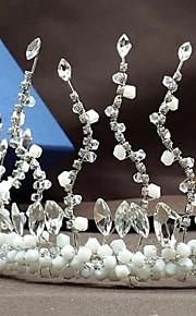 Women's / Flower Girl's Rhinestone / Crystal Headpiece-Wedding / Special Occasion / Casual / Outdoor Tiaras 1 Piece