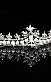 Women's Rhinestone / Alloy / Imitation Pearl Headpiece-Wedding / Special Occasion / Outdoor Tiaras 1 Piece