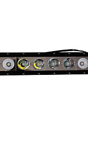1stk 16 inches 80w Cree IP68 LED lys bar med grill installation