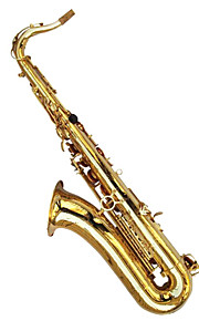 Tenor imitation golden drop B paint gold shell tenor Sax