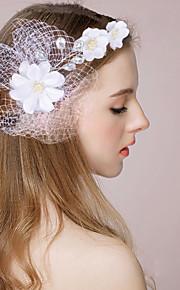 Women's  Imitation Pearl Headpiece-Wedding / Special Occasion Headbands / Wreaths / Birdcage Veils