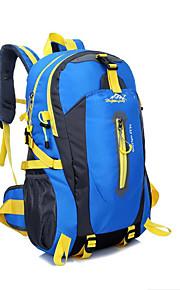 40L L Paquetes de Mochilas de Camping / mochila Acampada y Senderismo / Escalar / Viaje Al Aire LibreImpermeable / Secado Rápido /