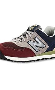 New Balance 574 Women's Sneaker Running Shoes Blue / Brown / Red