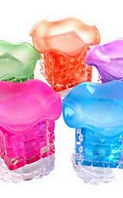 krystal terning aroma lamper olie duft lampe vågelampe