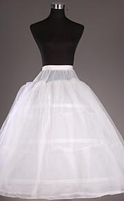 Déshabillés(Filet de tulle / Taffetas,Blanc) -Robe de soirée longue-2-102CM