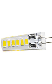 5W G4 LED à Double Broches T 12 SMD 5730 400 lm Blanc Chaud / Blanc Froid Etanches DC 12 V 1 pièce