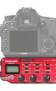 SR-AX107 Rosso 9V Battery Studio microfono