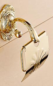 Porta rotolo di carta igienica / Ti-PVD / A muro /4.2*2.4*6.9 inch /Ottone /Moderno /12CM 6CM 0.75