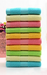 """1 Piece Full Cotton Hand Towel 29""""by 13"""" Solid Multicolor Super Soft"""