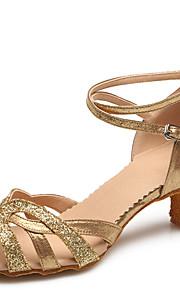 Women's Dance Shoes Paillette Paillette Latin / Modern Heels Stiletto Heel Practice / Indoor
