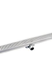 Abfluss / Gebürstet / Freistehend /638*108*75mm /Edelstahl /Modern /63.8cm 10.8cm 1.82