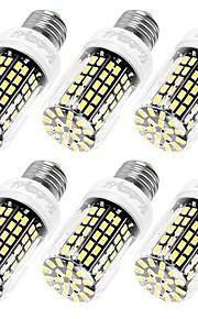 10W E12 / E26/E27 Ampoules Maïs LED T 108 SMD 5733 950 lm Blanc Chaud / Blanc Froid Décorative AC 110-130 V 6 pièces