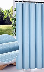 """moderne solid flerfarvet fortykkelse badeforhæng W71 """"× l79"""""""
