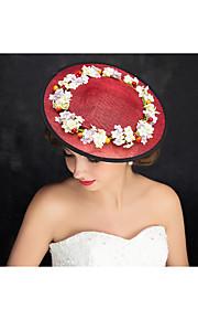 Women's Flax Headpiece-Special Occasion Fascinators 1 Piece Clear Irregular 30