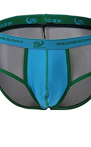 Men's Fashion Color Block Boxer Briefs Underwear Men's Lingerie
