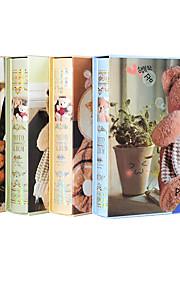 6 tommer 200 bjørn design album tilfældig farve