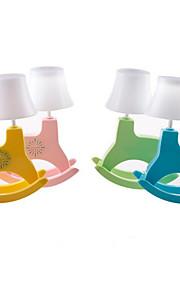 Skrivebordslamper Øjenbeskyttelse Rustik/hytte Plastik