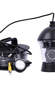 20meters sicurezza a circuito chiuso 0-360 ° 12pcs LED IR videocamera pesce videocamera pesca subacquea finder