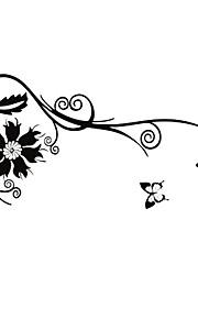 Мультипликация Наклейки Простые наклейки Декоративные наклейки на стены / Наклейки на холодильник,PVC материалВлажная чистка / Съемная /