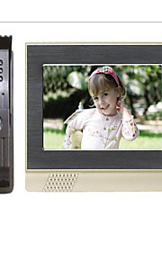 200 meter forbinder direkte salg 7 tommer LCD-farve hd nat-vision elektrisk styring låse video intercom dørklokken
