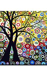 Håndmalte Abstrakt olje~~POS=TRUNC malerier~~POS=HEADCOMP,Moderne / Klassisk / Tradisjonell / Realisme / Middelhavet / Parfymert /