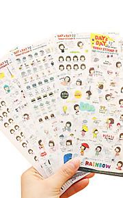 seks album sticker DIY klistermærker