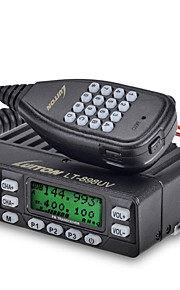LT-898UV Walkie-talkie 4W/10W 199 channels 400-470MHz / 136-174MHz none 5km-10kmProgrammeerbaar via pc-software / VOX / Encryptie /