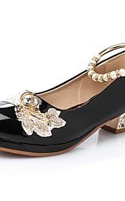 Girls' Shoes Slipper Princess Crystals Shoes Dress shoes Wedding / Dress/Performance  Heels  Sandals  Latin shoes Heels