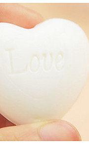 LOVE Heart Soap Wedding Gifts, Baby Shower Favors