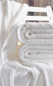 """1PC Full Cotton Thickening Bath Towel 55"""" by 27"""" Solid Super Soft"""