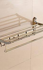 Badezimmer Regal / Messing, antik / Wandmontage /24.4*8.6*5.9 inch /Messing /Antik /62CM 22CM 2KG