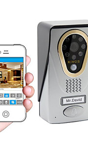 KIVOS wifi trådløs video dørklokken dørklokke intercom intelligent husstand mobiltelefon kamera lås kdb400
