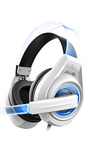 SENICC G241 Høretelefoner (Pandebånd)ForMedie Player/Tablet / Mobiltelefon / ComputerWithMed Mikrofon / DJ / Lydstyrke Kontrol / Gaming /