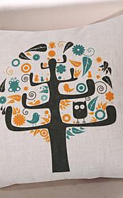 Coton/Lin Housse de coussin,Texturé / Nature morte / Imprimés Photos Moderne/Contemporain / Décontracté / Décoratif