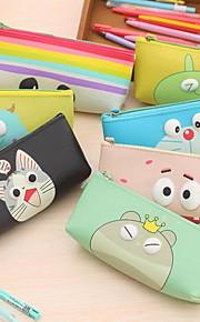 מחזיקי עטים וקופסאות Cute,PU עור