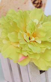 Полиэстер Свадебные украшения-1шт / комплект Искусственные цветы Свадьба Деревенская тема Белый Весна НеперсонализированныйЦвет