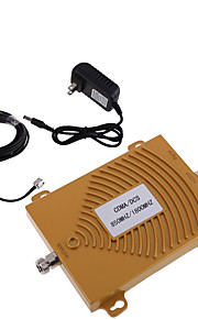 Gold CDMA DCS 850/1800MHz Dual Band Cell Phone Signal Booster Repeater Antenna Kit