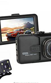 2016 nye dual linse bil dvr 1080p Full HD-video registrator optager med backup ede kamera g-sensor