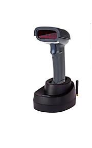trådløs laser stregkode scanning pistol (scanning sats: 3mil, interface: USB-interface, med sokkel)