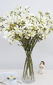 1pc 1 ענף פוליאסטר / פלסטיק Others פרחים לשולחן פרחים מלאכותיים 22inch/56CM