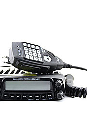 anytone at-588uv VHF: 136-174mhz&uhf: 400 ~ 490mhz walkie talkie i bilen radio transceiver