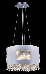 3W Hängande lampor ,  Modern Rektangulär Särdrag for Kristall / Flush Mount Lights Metall Living Room / Dining Room / Studierum/Kontor