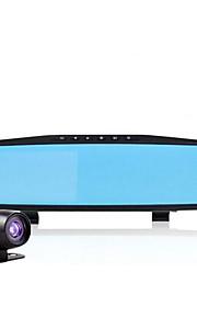 4,3 tommer kørsel optager dobbelt linse 1080p hd optager parkering overvågning vidvinkel nattesyn